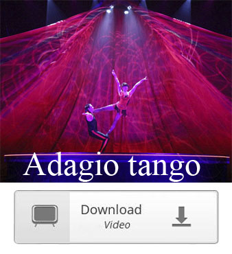 acrobatic adagio tango duo video download
