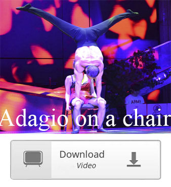 acrobatics adagio on a chair duo video download