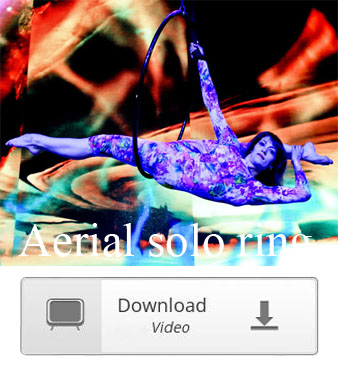 aerial solo female on the hoop video download