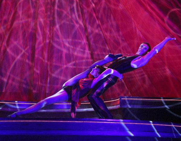 acrobatic duet