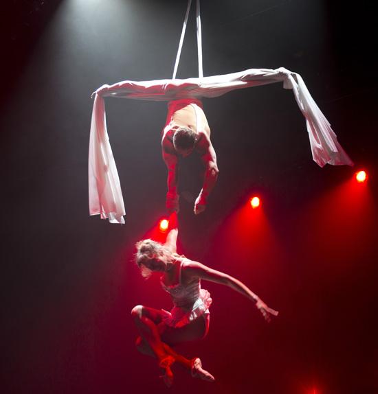 aerial silks duet