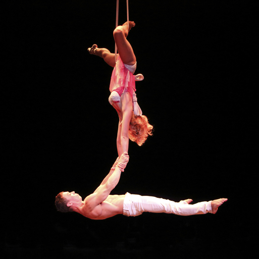 aerial artist straps act