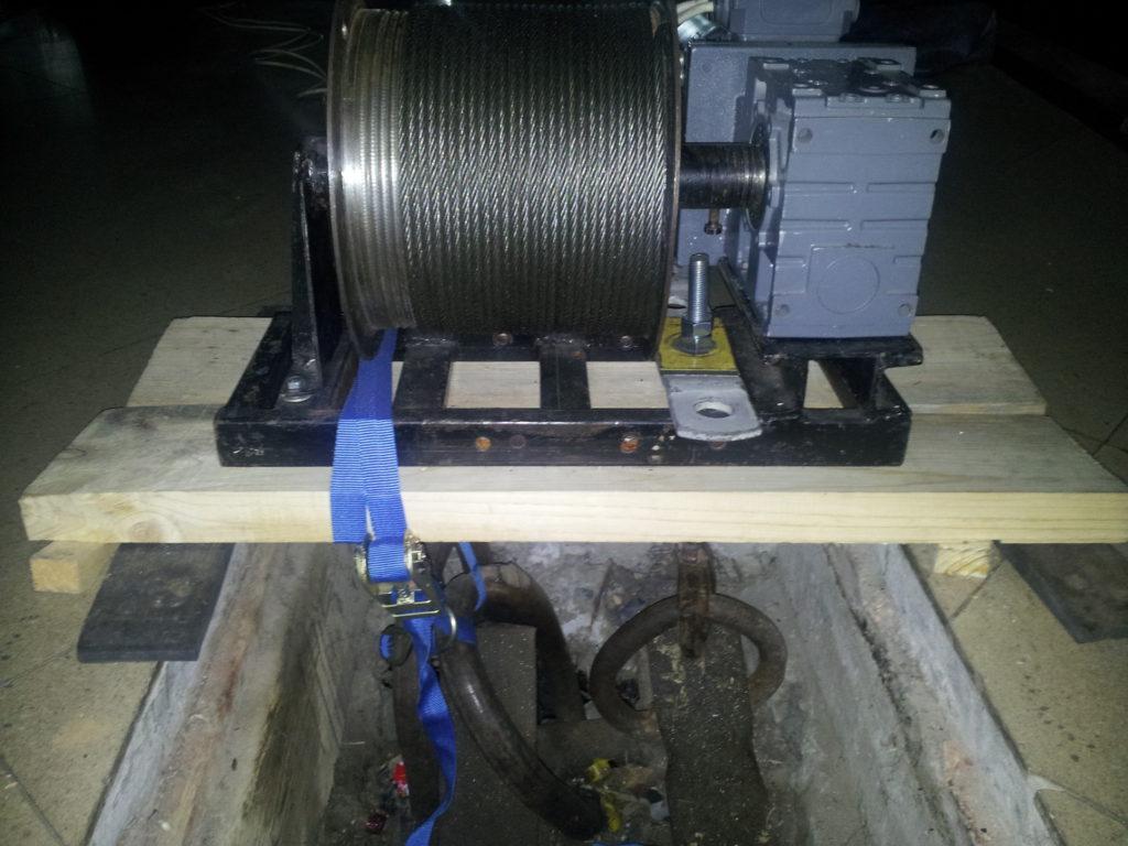 Aerial equipment / a circus motor